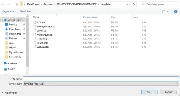 2.ファイルに名前をつけて保存