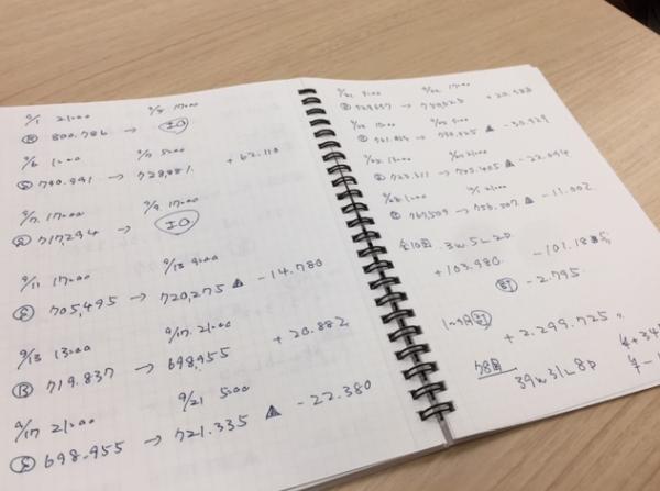 手書きタイプ