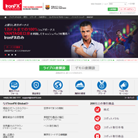 IronFX海外FX業者ウェブサイト
